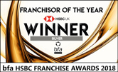 bfa HSBC Franchisor of the Year Winner Silver 2018