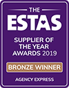 ESTAS Supplier of the Year 2019 - Bronze Award