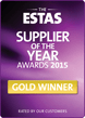 ESTA 2015 Supplier of the Year Gold