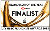 bfa HSBC Franchisor of the Year Finalist 2018