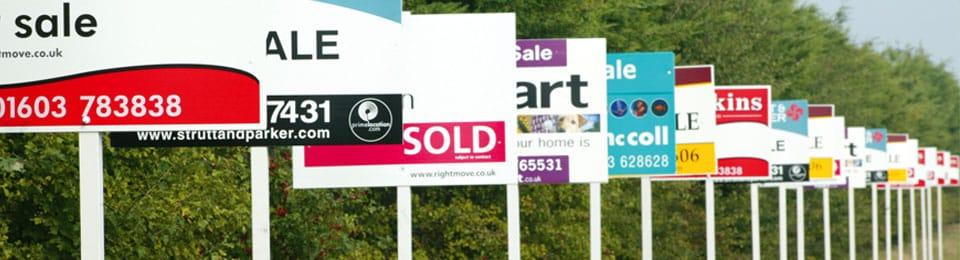 Estate Agency Board Specialists Nationwide