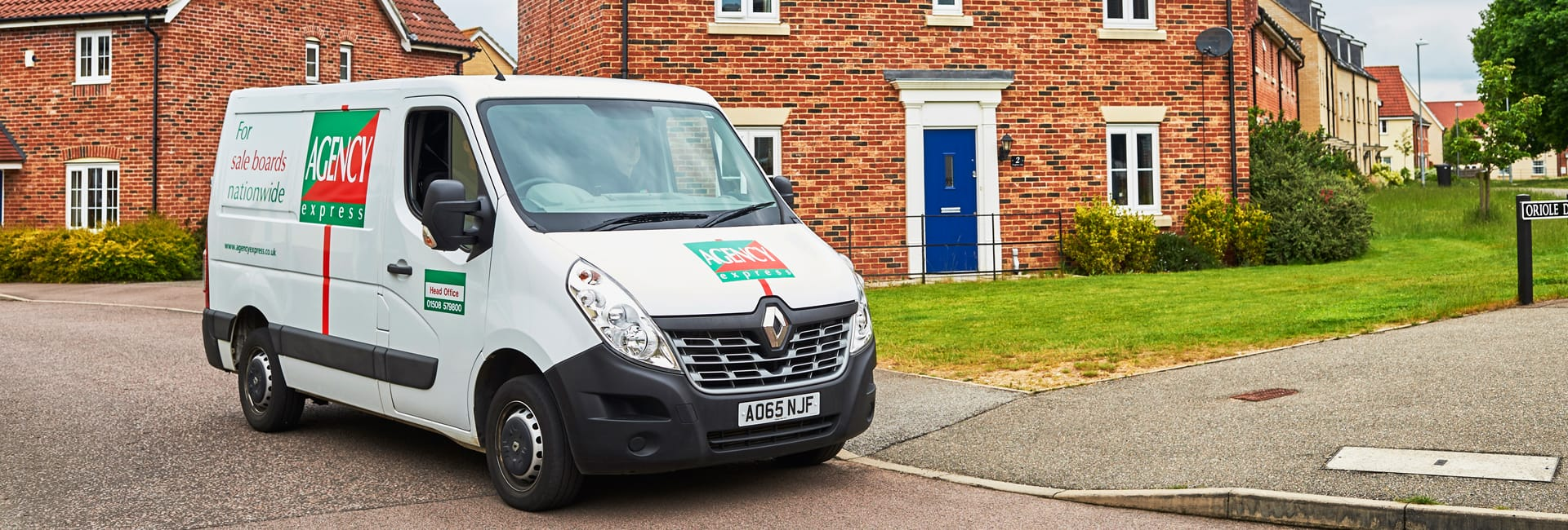 The Agency Express franchise package. A van based business.