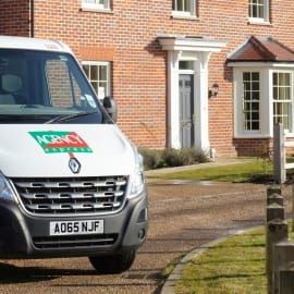 Agency Express van - Award winning estate agency board erectors