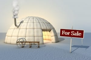 property market - Igloo for sale