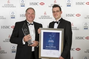 bfa HSBC Franchisor of the Year awards Bronze winners Agency Express