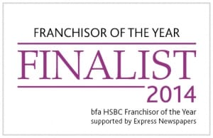 Franchisor of the Year Logo Finalist