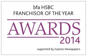 bfa HSBC Franchisor of the Year' awards