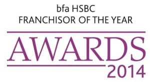 bfa HSBC Franchisor of the Year Awards 2014