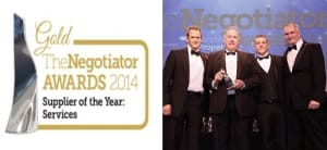 Negotiator Awards Supplier of the Year