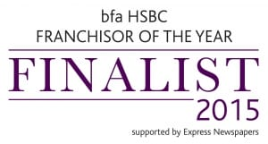 bfa HSBC Franchisor of the Year Awards 2015.