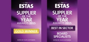 ESTAS Supplier of the Year Awards 2015
