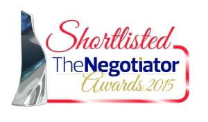 The Negotiator Awards 2015 Shortlisted Logo