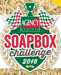 The Agency Express Soapbox Challenge 2016 official logo