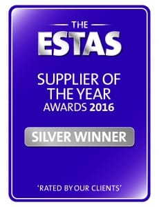 ESTAS Supplier of the Year 2016 Silver Award