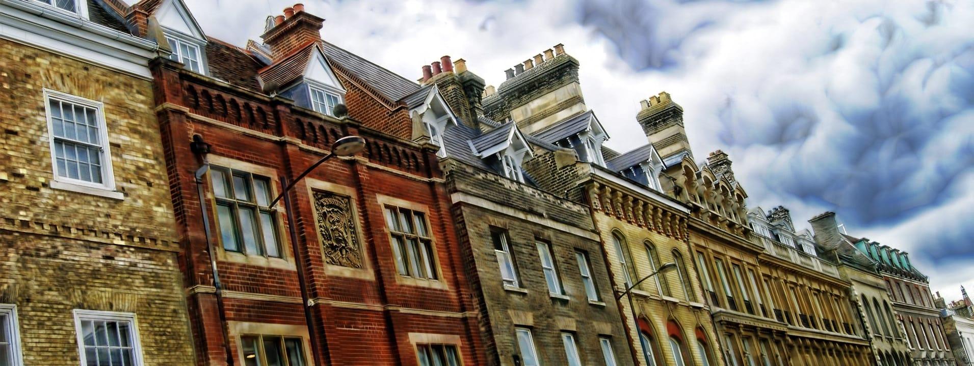Row of houses - UK Housing Market