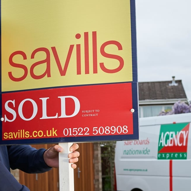 Properties 'For Sale' increase in April