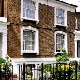 A row of town houses.- Property market report from the Property Activity Index