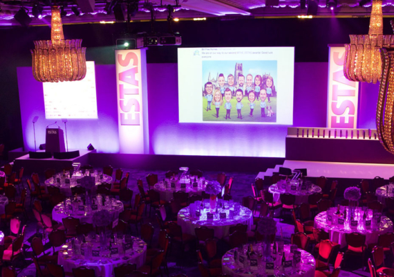 Agency Express make ESTAS 'Supplier of the Year' shortlist for a 7th consecutive year
