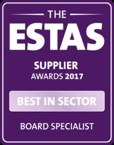 ESTAS 2017 Best in Sector 2017 logo