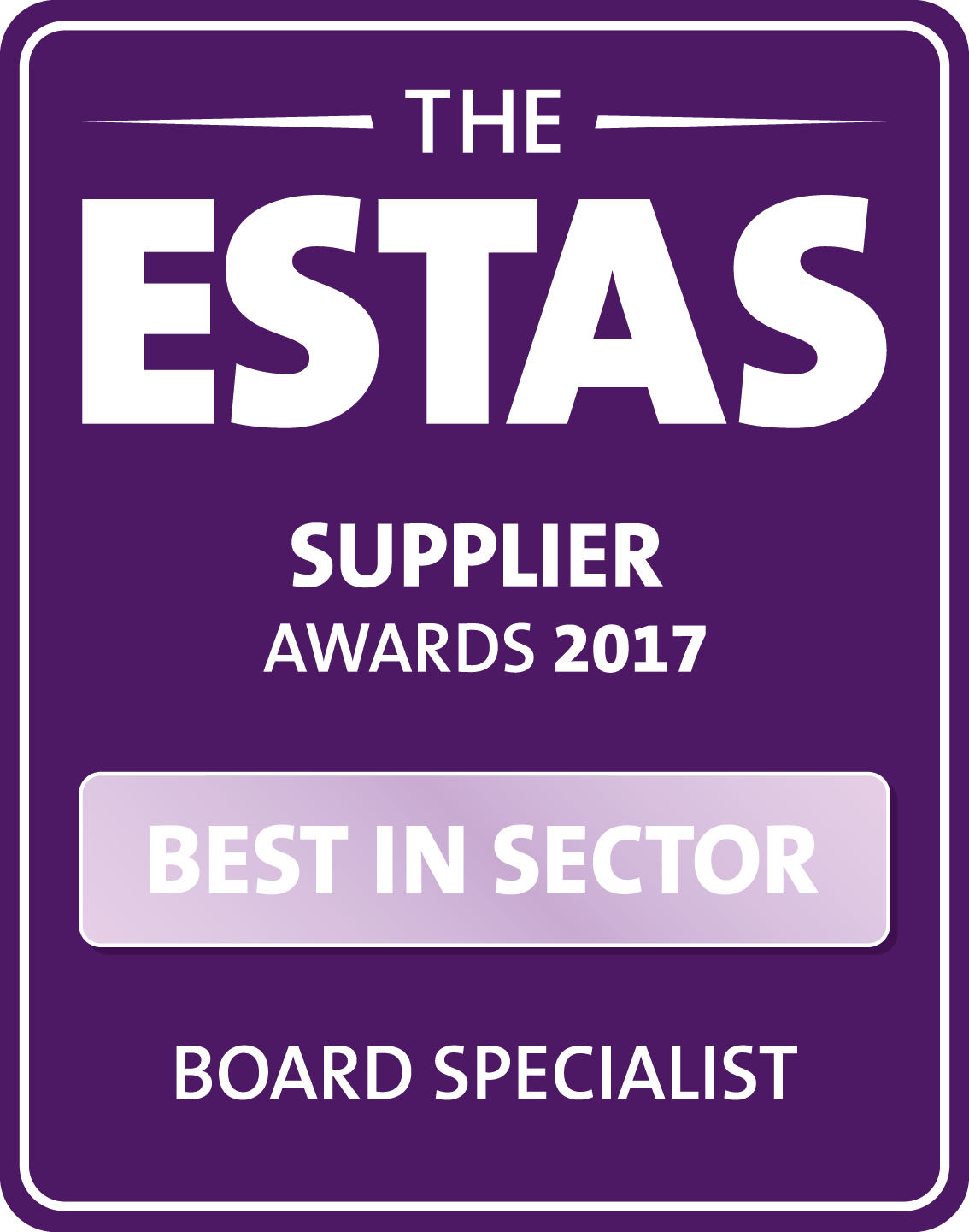 ESTAS 2017 Best in Sector 2017 logo