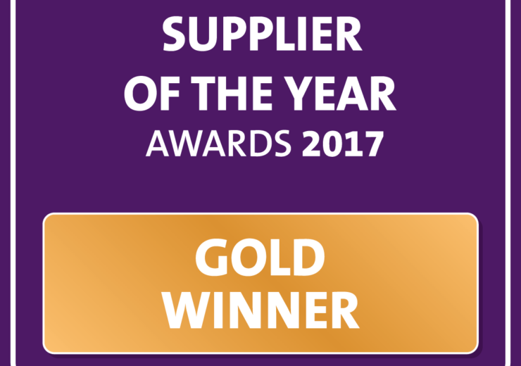 ESTAS 2017 Gold Supplier of the Year logo.
