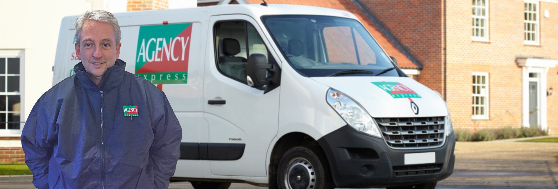 Agency Express franchise case study. Franchisee Steve Macqueen with van.