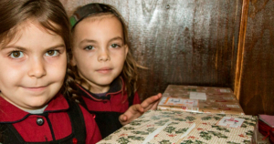 The Agency Express Shoebox Appeal - Contact and find out more call to action