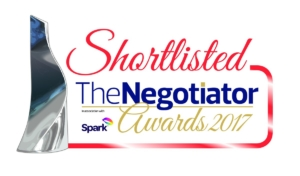 Negotiator Awards shortlist logo 2017