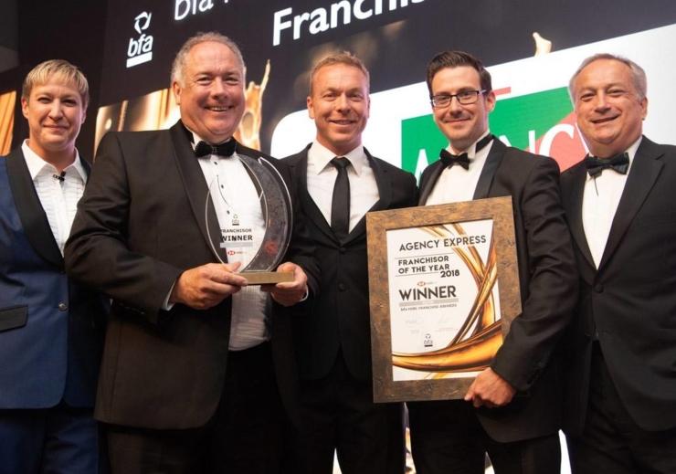 bfa Franchisor of the Year 2018 winners