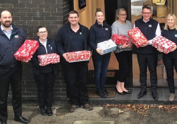 Christmas shoebox round up 2018