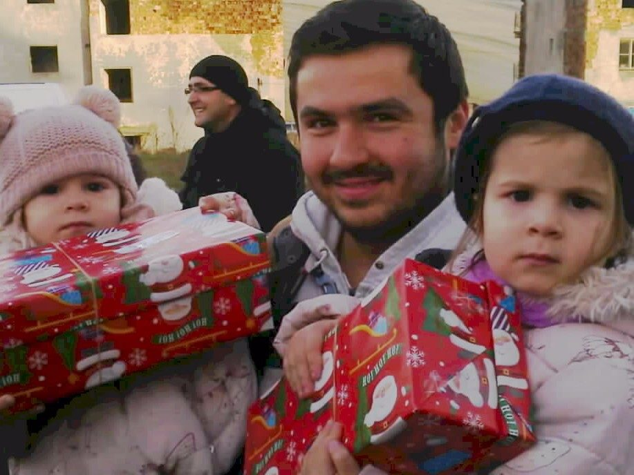 Christmas shoebox delivery Eastern Europe 2018