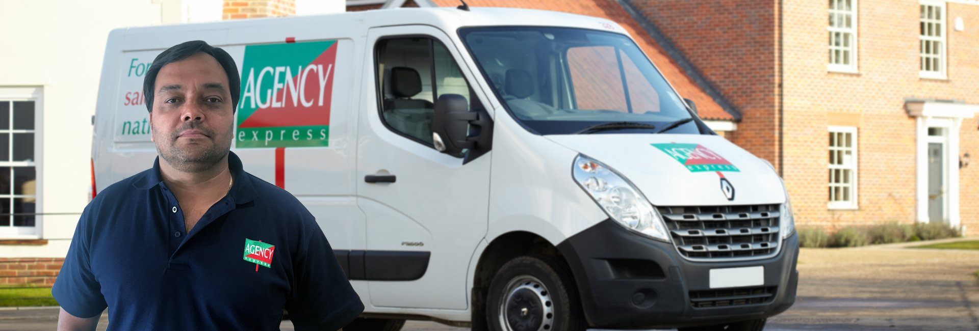 Agency Express franchise case study. Franchisee Bert Bigaignon with van.