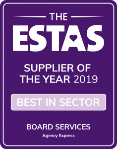 2019 ESTAS Awards - Supplier of the Year - Best in sector logo
