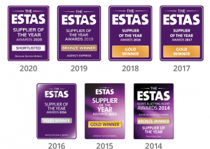 ESTAS Supplier of the Year Winner