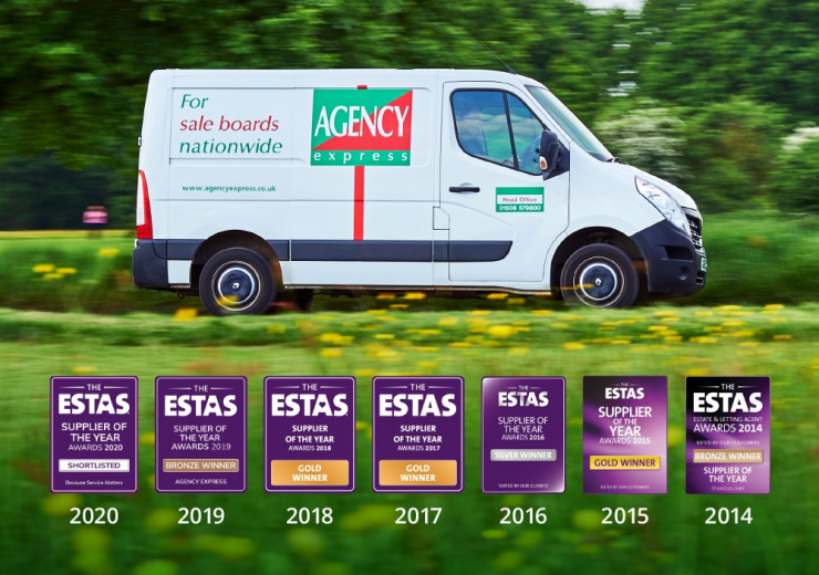 ESTAS Supplier of the year Awards Winner