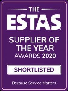 ESTAS Supplier Of The Year Shortlist 2020
