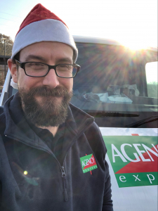 The Agency Express Christmas shoebox appeal 2020 - Ben Brookes