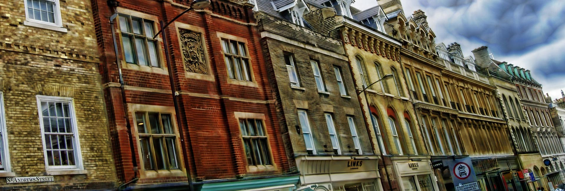 Row of apartments - Review of the UK property market
